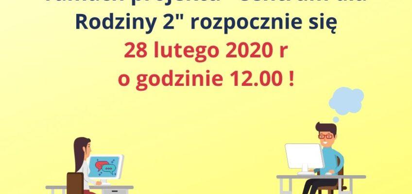 Infografika dotycząca naboru wniosków w konkursie CDR2