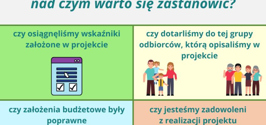 Infografika przedstawiająca efekty realizacji projektu